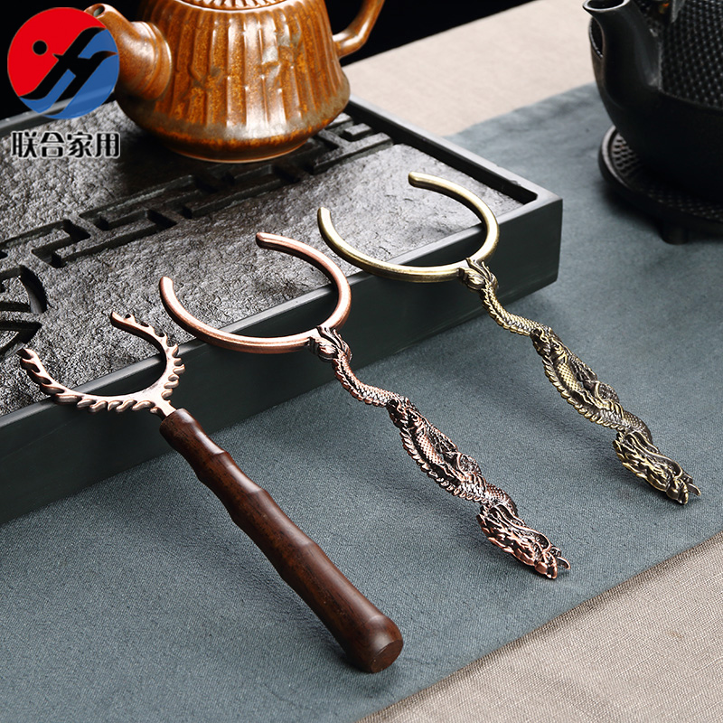 联合家用铜制杯叉LH-0403