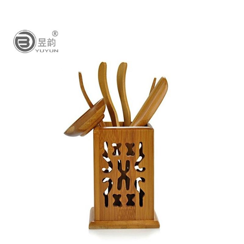 昱韵茶具六君子竹制品茶匙YT--117