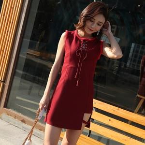 实拍现货夏性感夜店装韩版连衣裙显瘦chic港味背心裙气质短裙潮