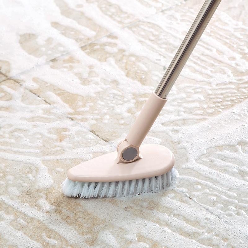 Bathroom long handle brush outdoor tile floor brush floor brush bathroom bathtub brush floor cleaning brush