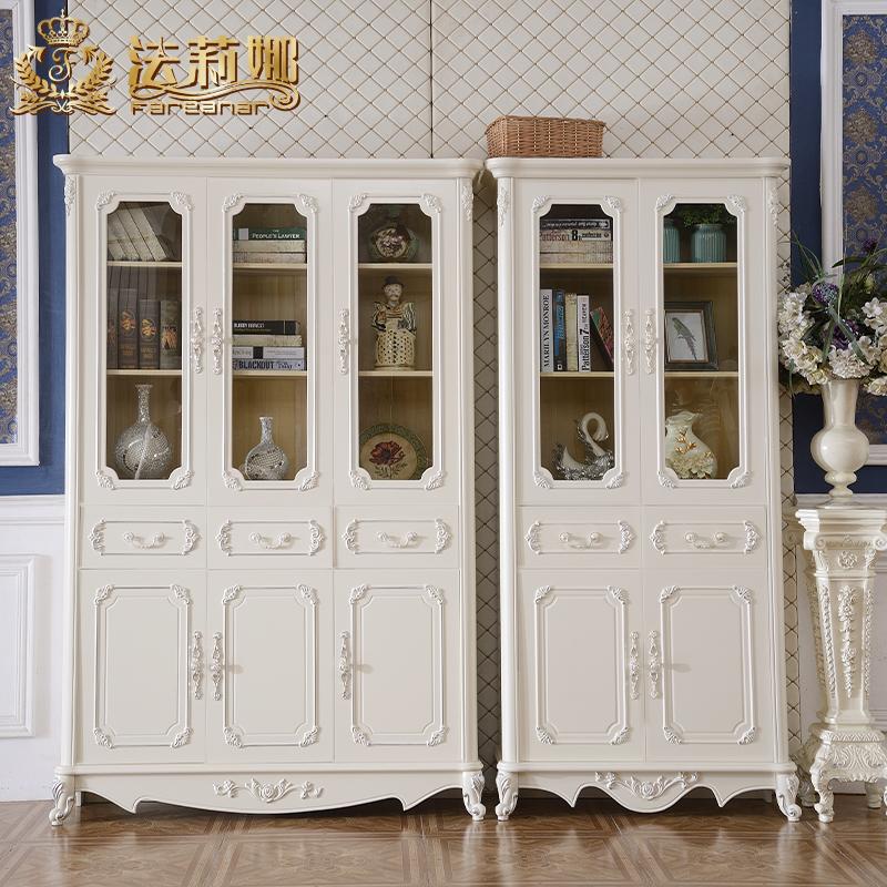 法莉娜欧式实木书柜子i70