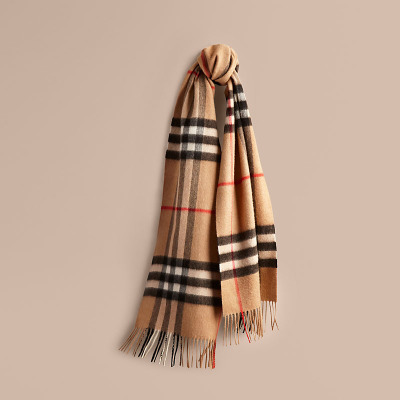 BURBERRY/ Bo Bo Heritage cashmere scarf 39295221's main photo