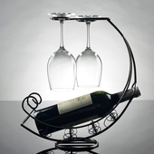 Wine Glass & Bottle Rack