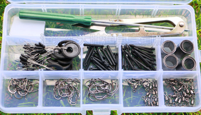 Imported Isetis Box Bulk Fishing Hook Fishing Line Gadget Accessories Set Box Fishing Supplies