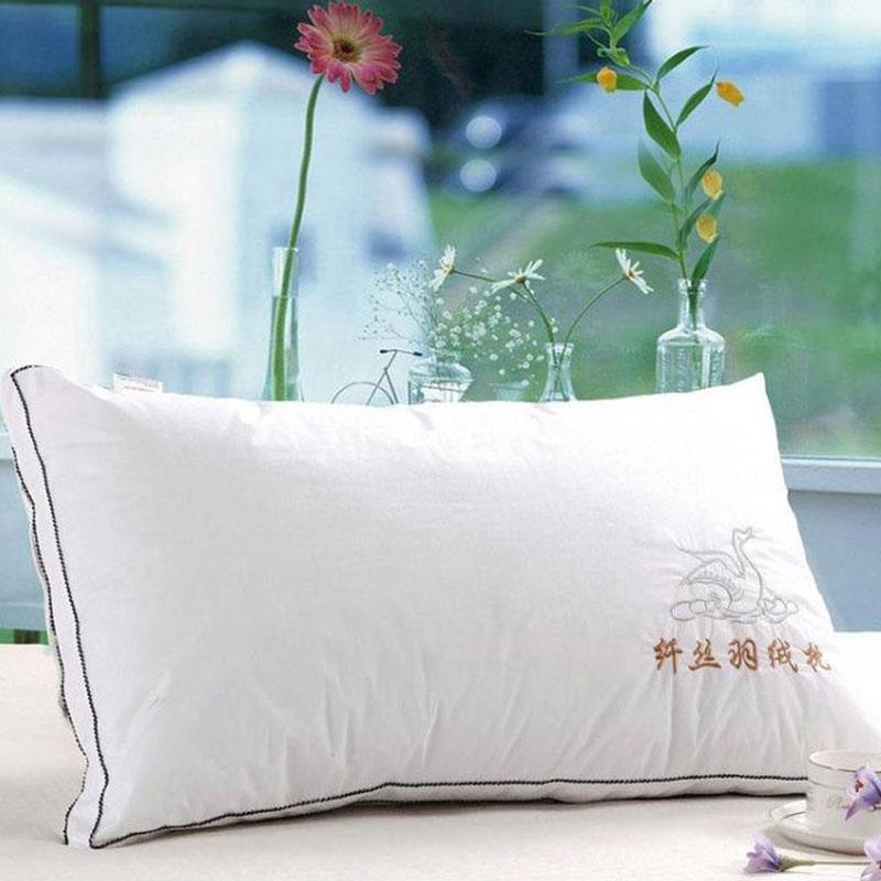 鱼跃家纺单人白色枕头EYA501