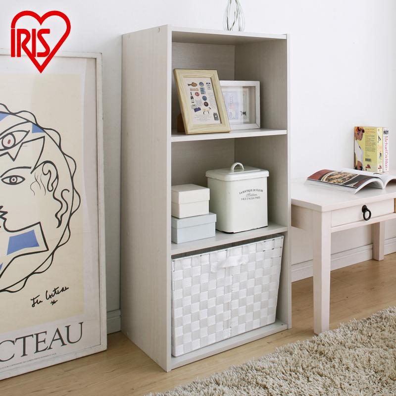 爱丽思日式彩色收纳柜多层衣物书柜