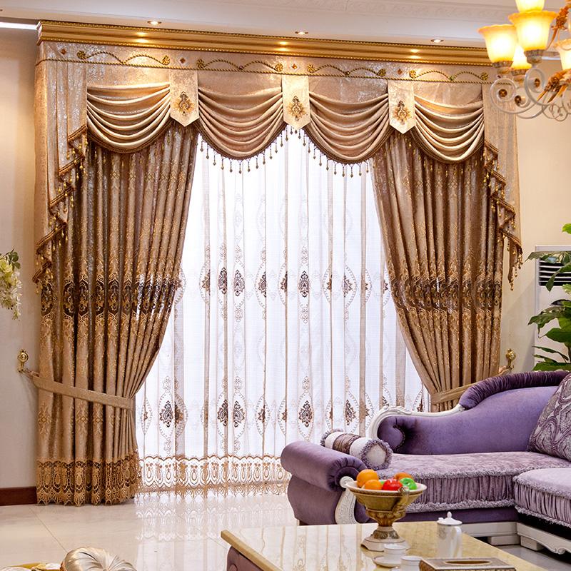 一米奢华欧式窗帘奢华正茂