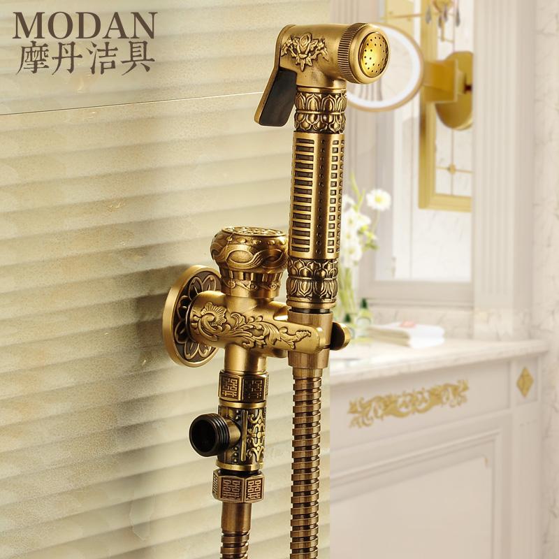 摩丹洁具全铜喷枪龙头妇洗器MD-1004