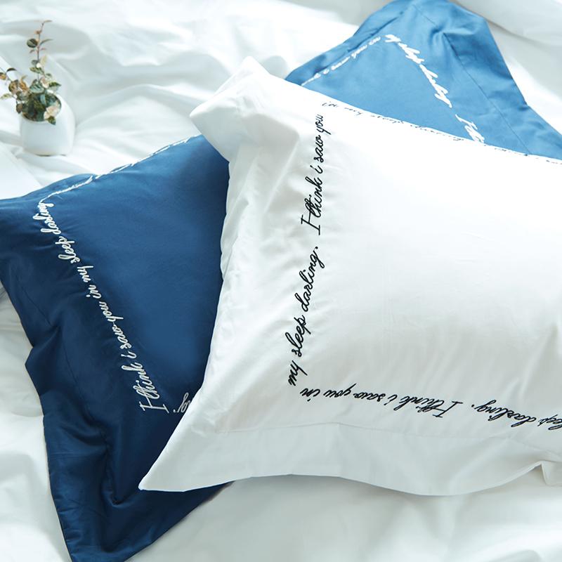 艾do简约北欧ins刺绣枕头套JTBOCXZT-001