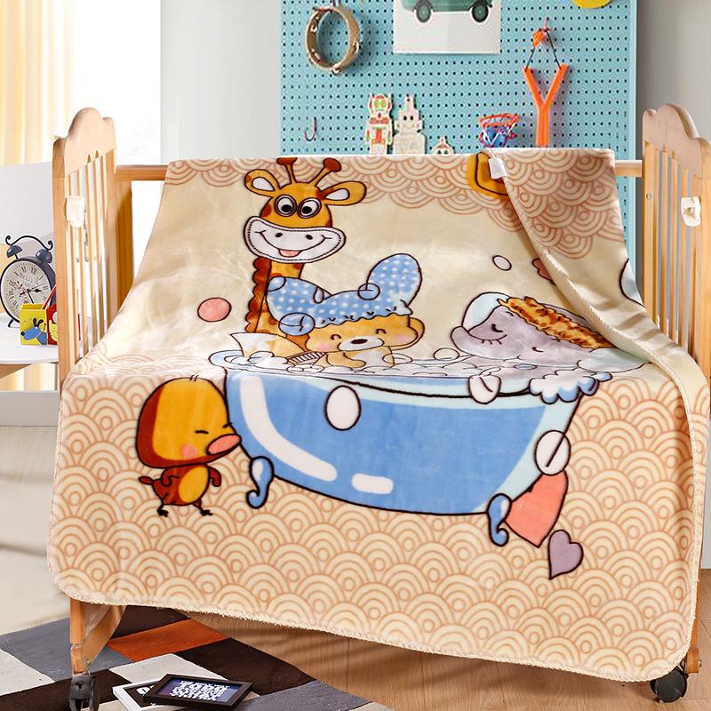 暖之家双层云毯儿童毯