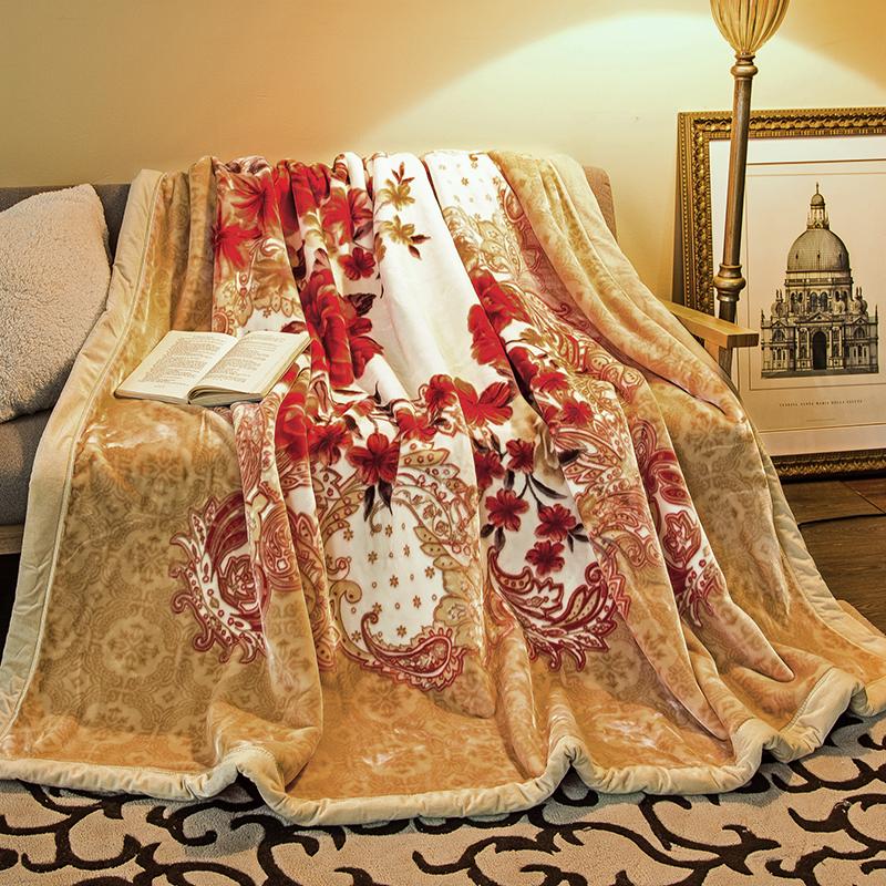 妃冠拉舍尔毛毯19