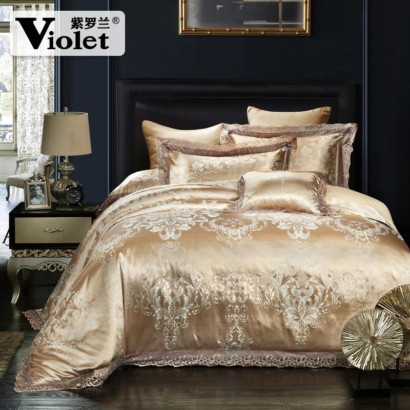 紫罗兰床品套件