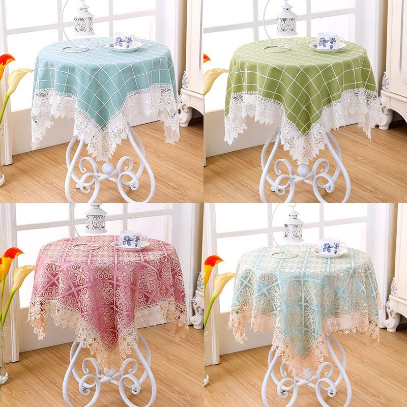 左岸春天小方桌圆桌布盖巾