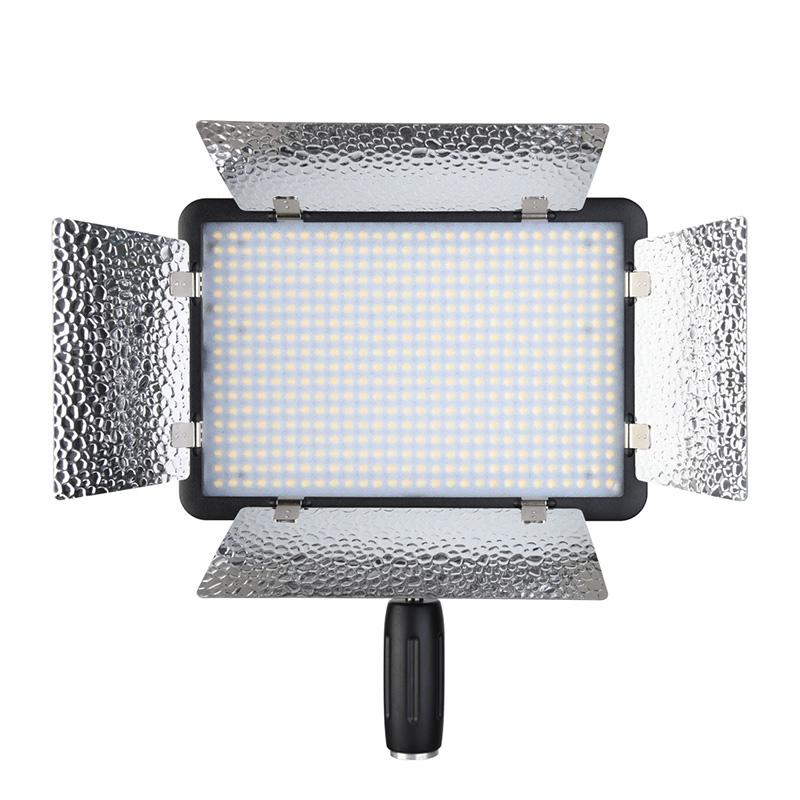 神牛LED500LR二代常亮灯双灯套装无频闪太阳灯补光灯摄影灯影室灯