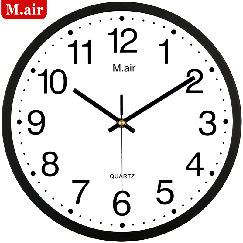 meyer silent wall clock fashion bedroom living room wall clo