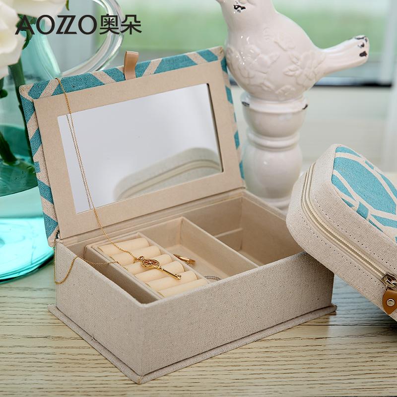 奥朵美式麻布化妆盒80121399001