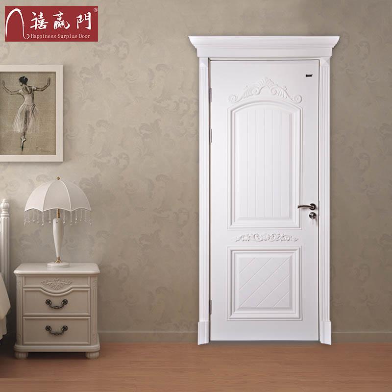 禧赢门实木烤漆室内门财运-33