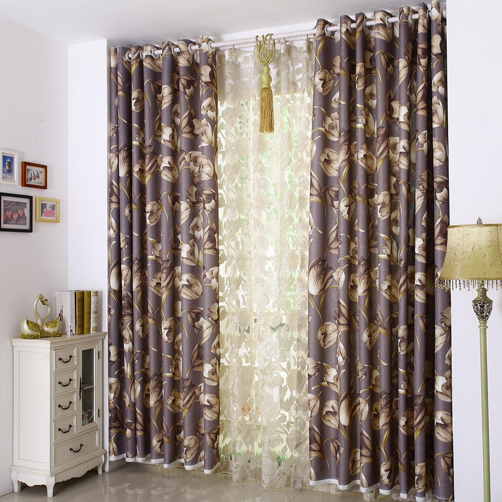 千梭纺织隔音布艺窗帘QS-160909