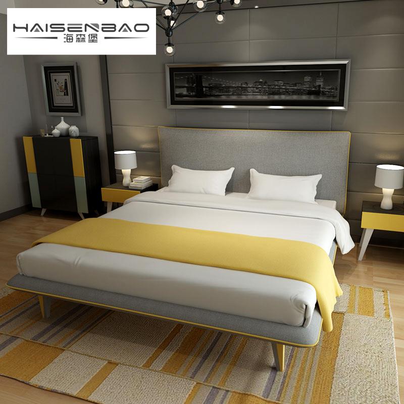 海森堡双人床SG-A002