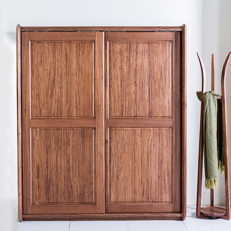 叶叶北欧全实木衣柜BWJV01(1)