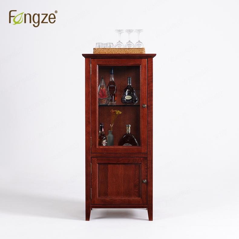 fengze美式小酒柜单门简约as220p
