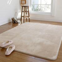 芦苇欧式简约客厅茶几地毯加厚珊瑚绒卧室床边毯飘窗毯可机洗地毯