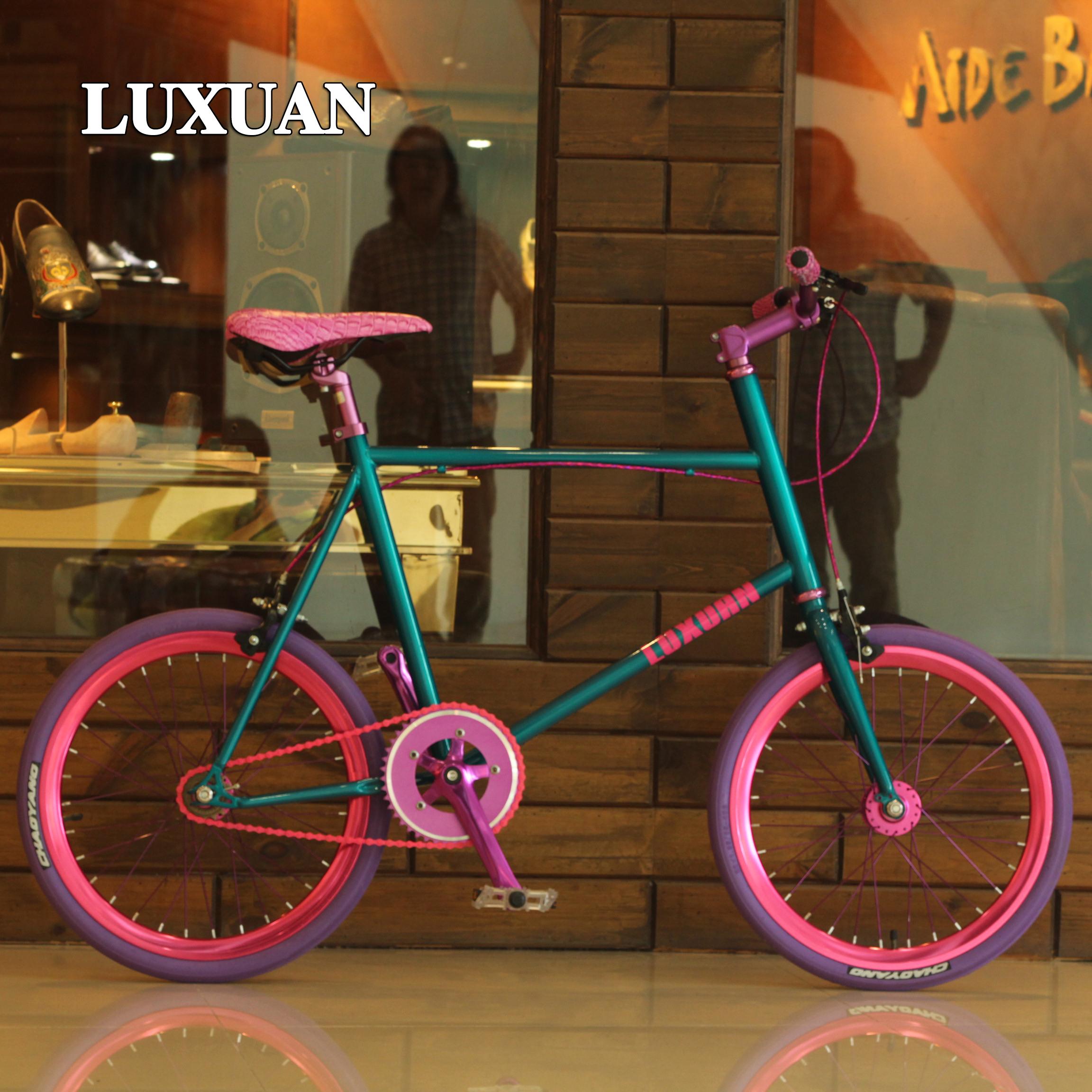 [限时特惠]通勤20寸脚踏自行车女式男女学生个性自行车女士时尚轻便单车复古淘宝特价 678.64 元