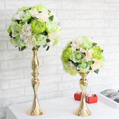 婚庆道具用品婚礼酒店主桌花美人鱼摆件 成品仿真花花艺橱窗装饰图片
