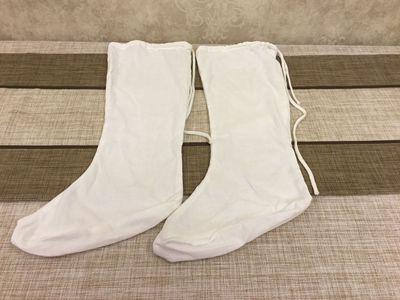 布袜古装男女袜子唐服汉服袜子白色云袜戏曲服装古装影视布袜图片