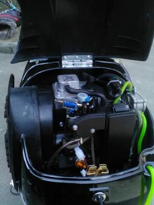 5k两轮电动车增程器发电机48v60v72v智能变频静音