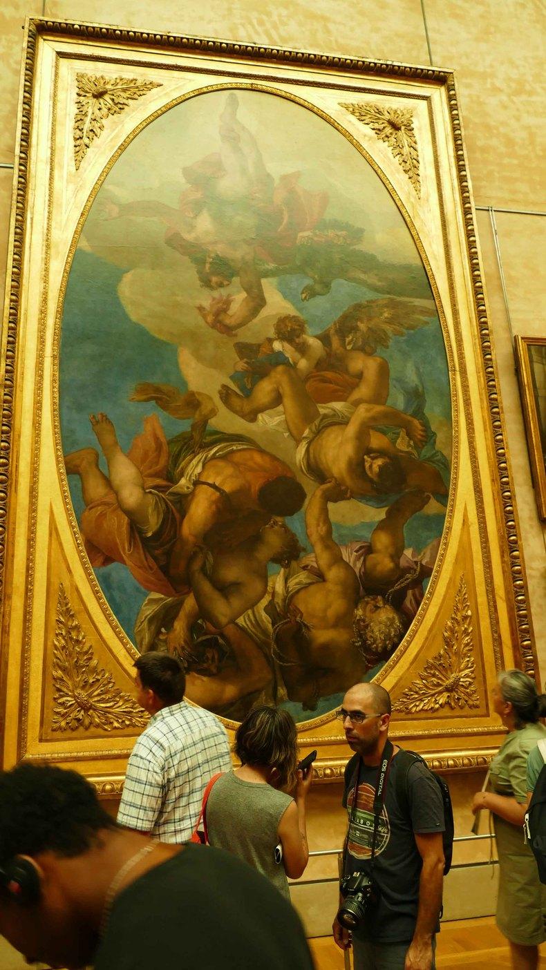 《蒙娜丽莎》,西方绘画艺术拱顶之作.图片