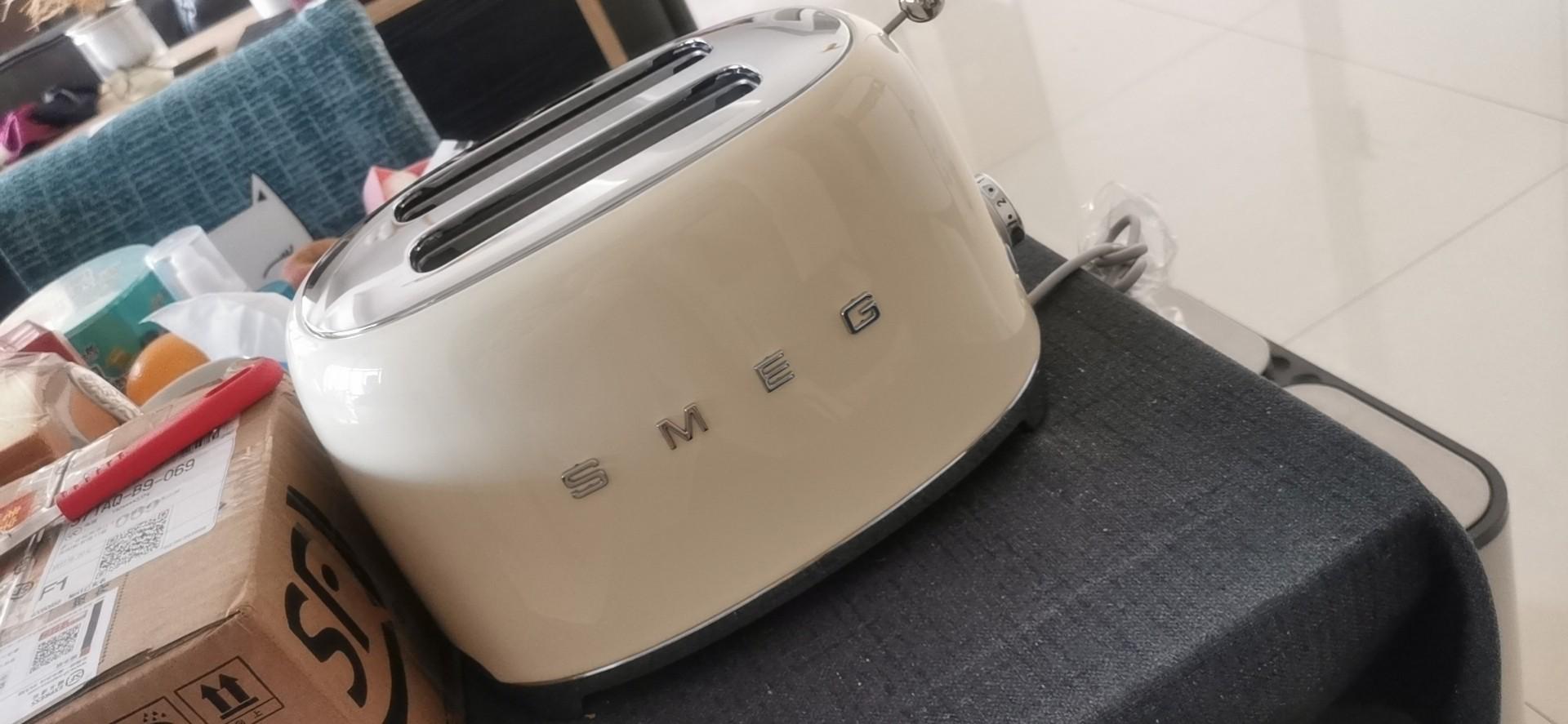 smeg /斯麦格家用多功能自动多士炉评测