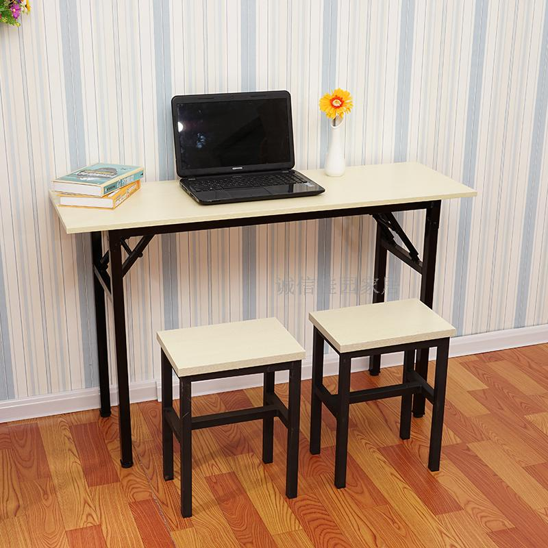 Folding table stall nail table meeting table long table training table simple table home rectangular desk