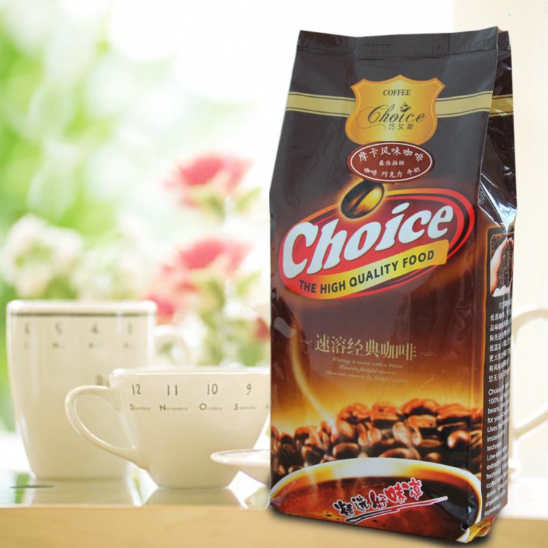创实 摩卡风味咖啡 三合一速溶咖啡粉 可用于自动咖啡机1000g