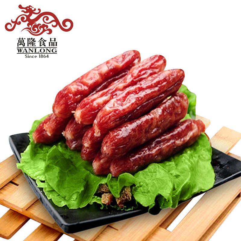 生鲜万隆杭味香肠500g散装杭州特产广式猪肉类腊肠灌肠江浙沪包邮