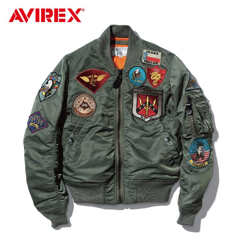 AVIREX MA-1 TOP GUN 傲气雄鹰款 飞行夹克 男女同款