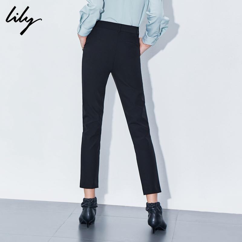 2020春夏新款休闲直筒西装长裤