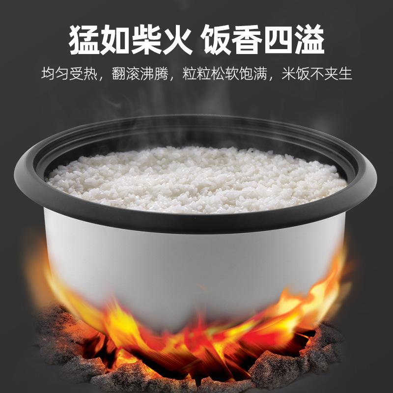 龙力大电饭锅大容量超大食堂老式10升电饭煲商用大容量20-30-40人