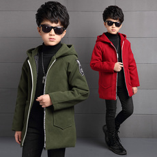 Baby coats Boys heavy woolen cloth