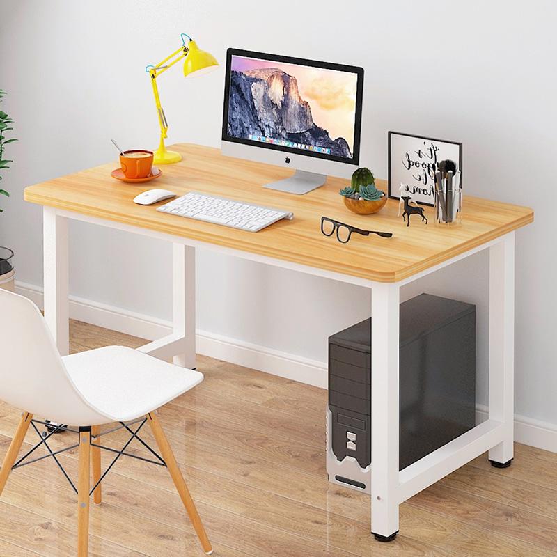 亿家达电脑桌台式书桌家用简易办公桌子学生书桌简约写字台单板桌