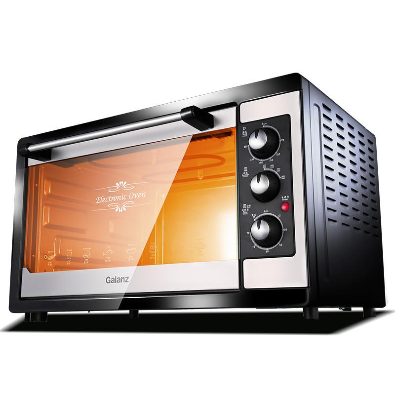 Galanz-格兰仕 KWS1538J-F5N-M烤箱微信识别二维码领红包 烘培多功能38L大电烤箱