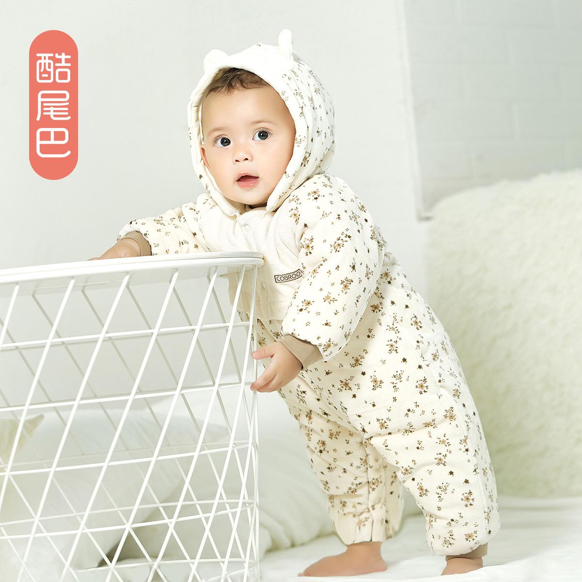 婴儿棉衣加厚一1岁宝宝冬装女孩童男宝宝棉服棉袄幼儿衣服