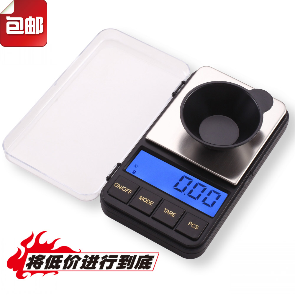 Spike Jewelry Explosion Pocket Eletronic Scale Portable Backlight Micro Gram Weight Scale 325580
