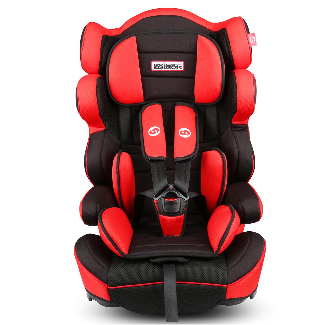 路途乐儿童安全座椅汽车用婴儿9个月-4-12岁车载宝宝坐椅 3c认证