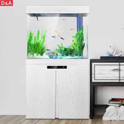 德国德克鱼缸客厅小型超白玻璃生态鱼缸家用底滤免换水懒人水族箱