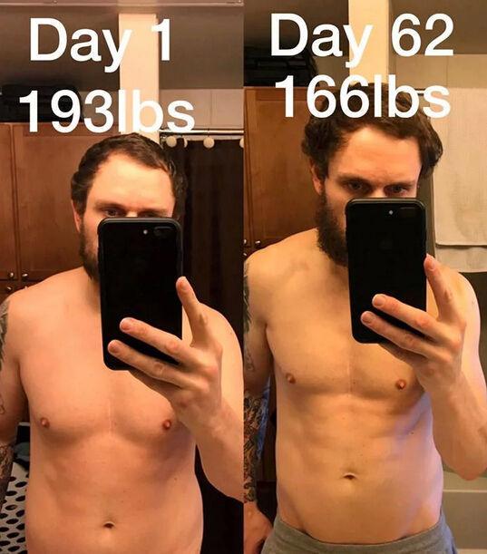 男子只吃冰激凌100天,成功减重30斤