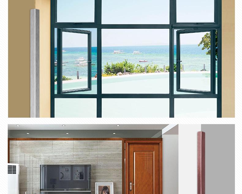 多亮 门套定做包窗口包飘窗套门框线条铝合金口套 窗套门框门套线