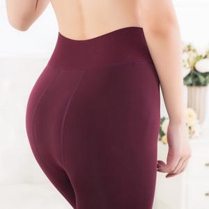 珍珠绒打底裤200g韩版秋冬女士300g加绒加厚外穿显瘦一体裤保暖裤