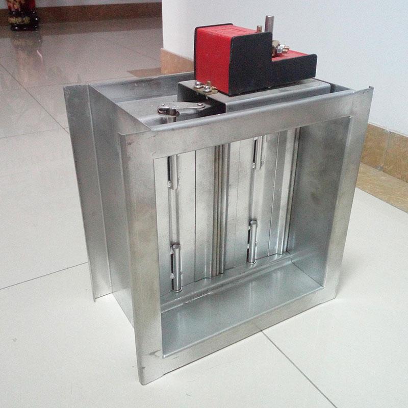 镀锌板电动调节阀