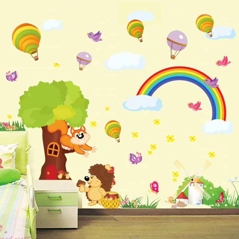 Special kindergarten children\'s room classroom wall decoration ...